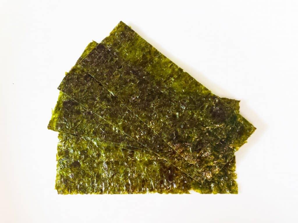 海苔を丸く切る方法