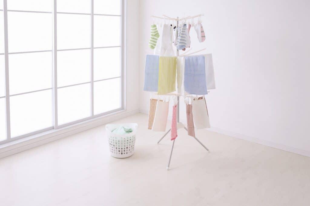タオルを早く乾かす干し方とは