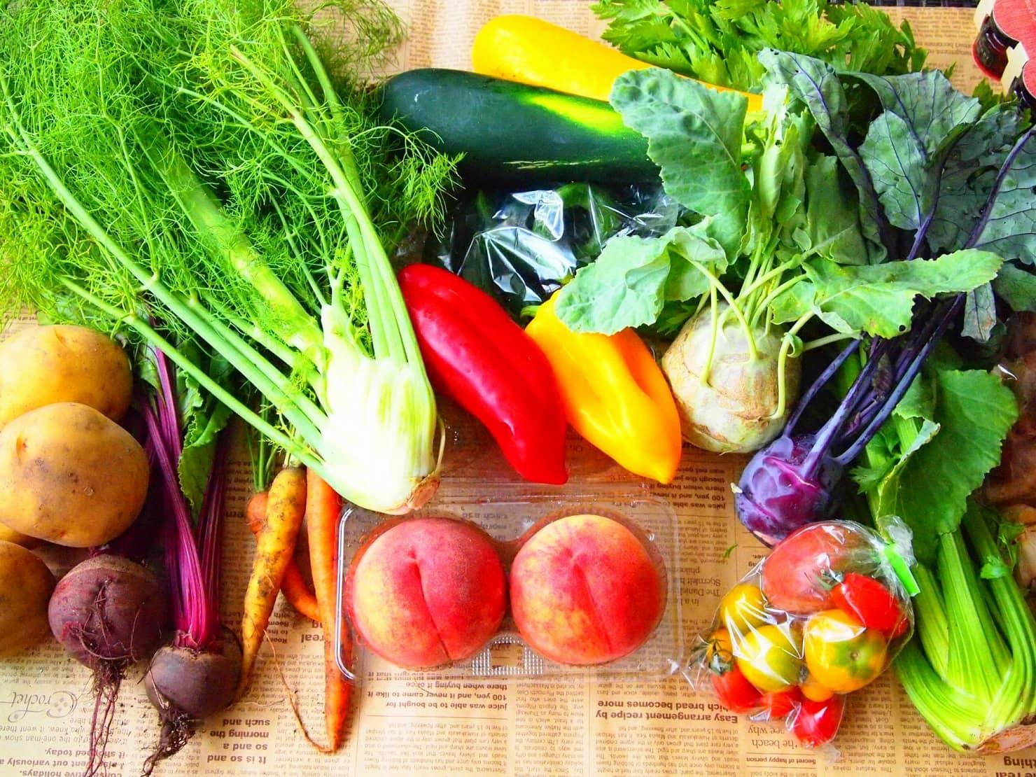 生日の離乳食作りのポイント:野菜と果物で色味と栄養を