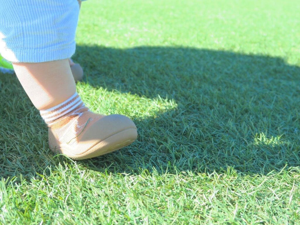 初めての靴にはファーストシューズ