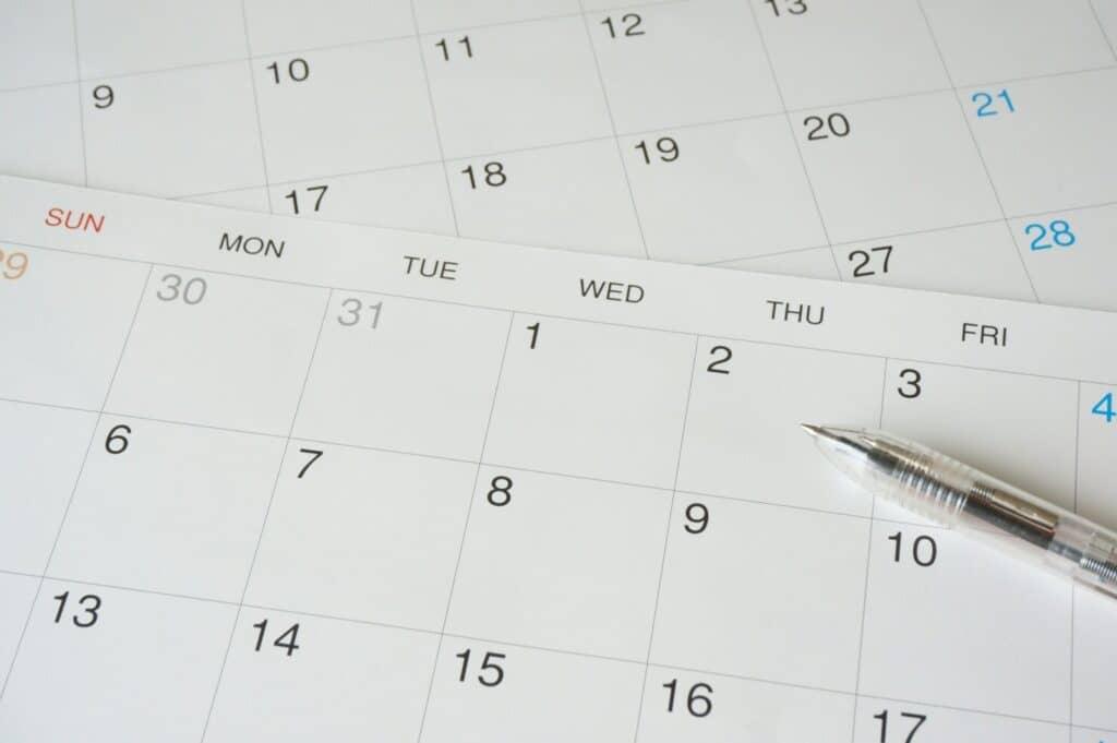 ママの妊娠週数の計算方法