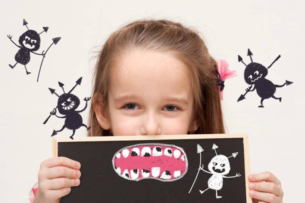 子供のお絵かきや学習用に黒板を使う