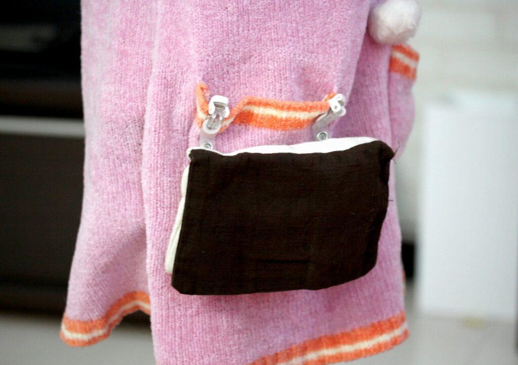 簡単! 移動ポケット作りの工程を大きく分けると3つ