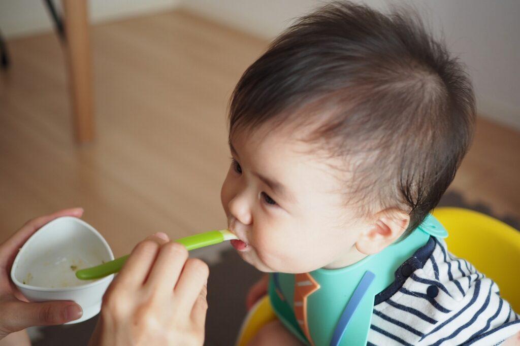 生後6ヶ月は離乳初期(ゴックン期)