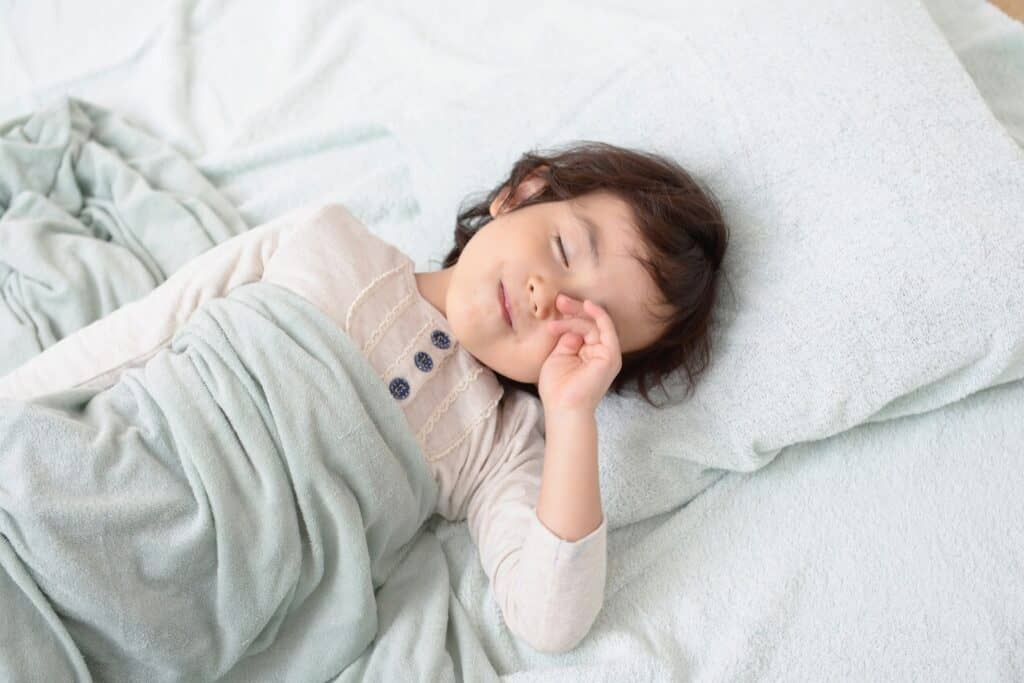 「寝ること」を意識させるお話