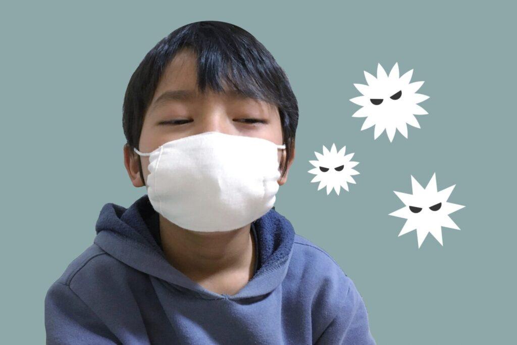 ガーゼマスクで感染症対策はできるの?