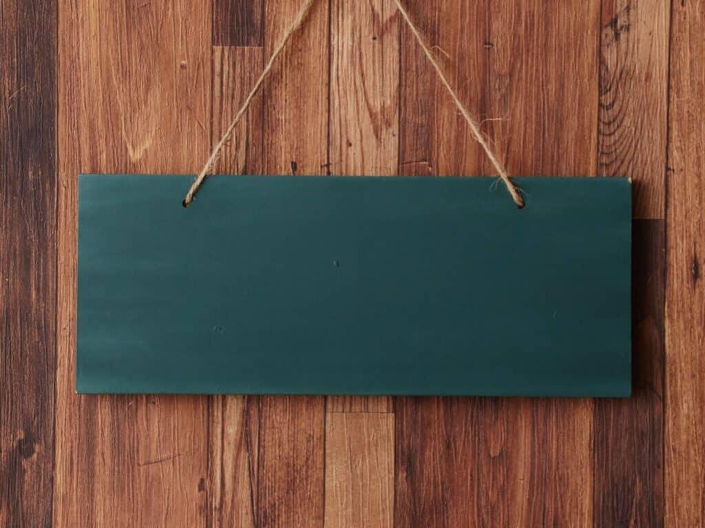 家庭用黒板の選び方