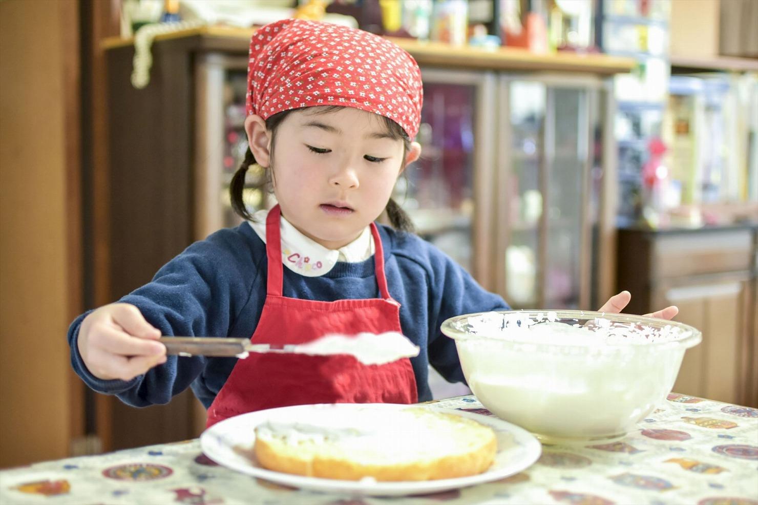 誕生日特典④:バースデーケーキが作れる