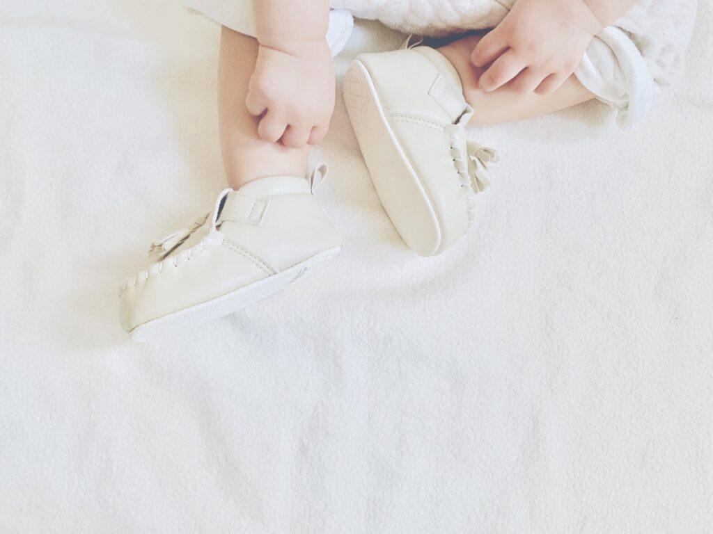 赤ちゃんの靴を選ぶ時のポイント