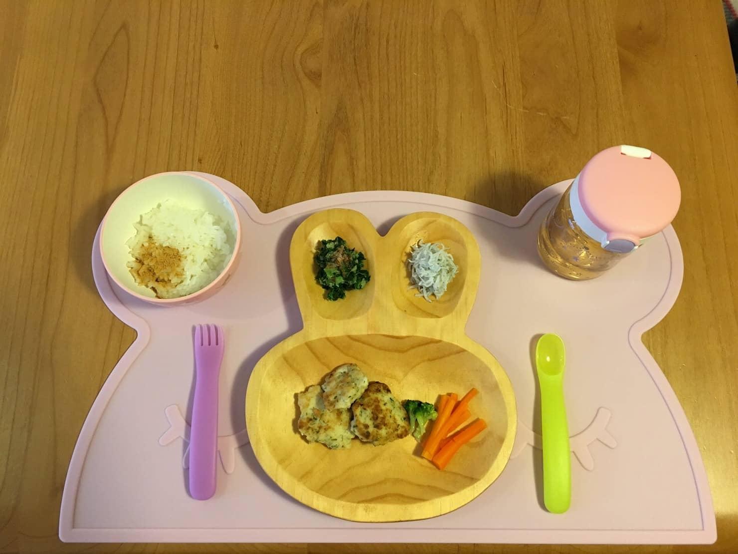 離乳後期:豆腐入り鶏つくねのレシピ