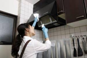 レンジフードの掃除 レンジフードの種類別に掃除方法を解説!