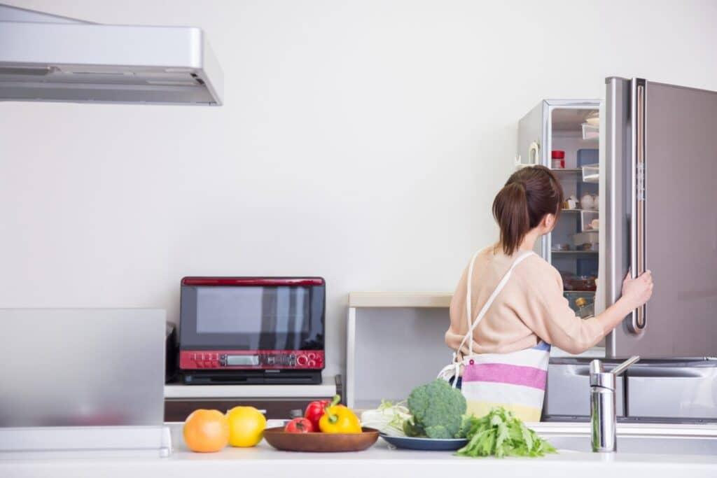 冷蔵庫を整理して食材ロスを減らす