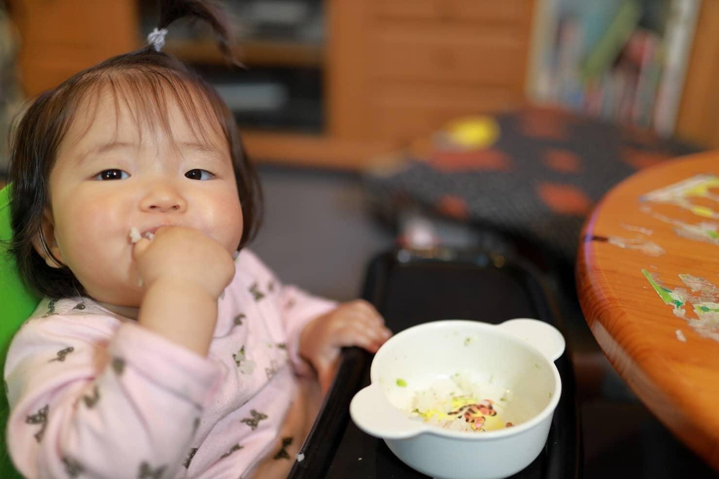 離乳完了期:鮭のちゃんちゃん焼きのレシピ