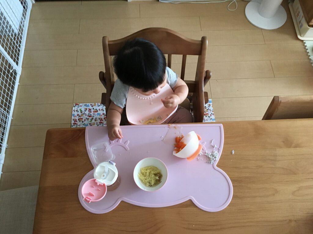 1歳児がご飯を食べない時はどうする?