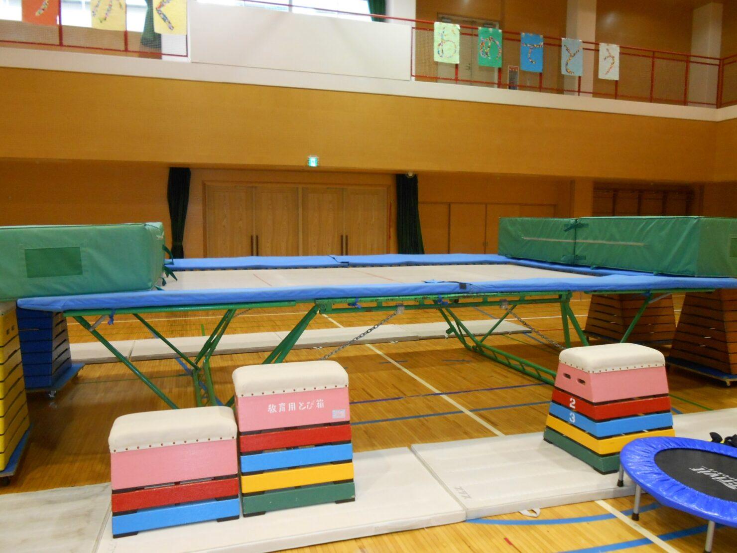 トランポリンで運動不足を解消!子供用トランポリンの飛び方動画と室内設置の注意