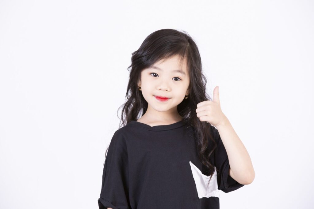 韓国の子供服のサイズ表