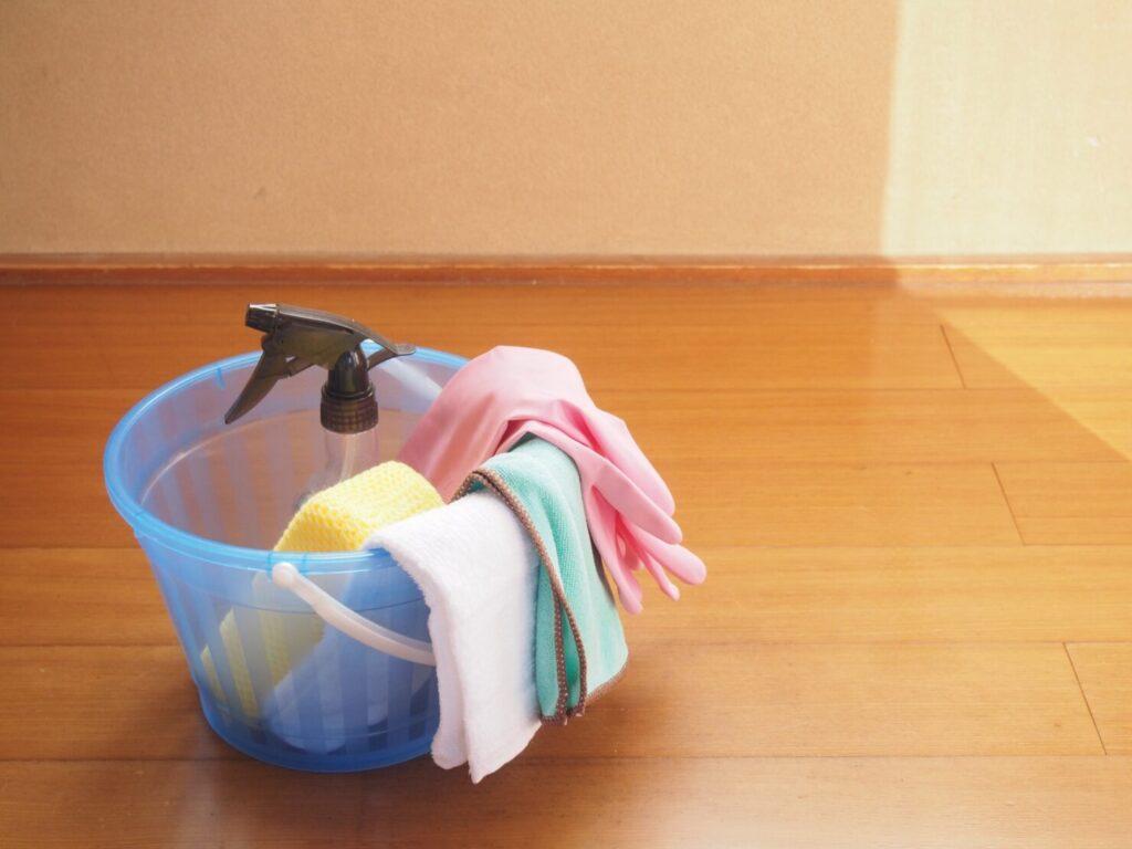 中性洗剤を使う