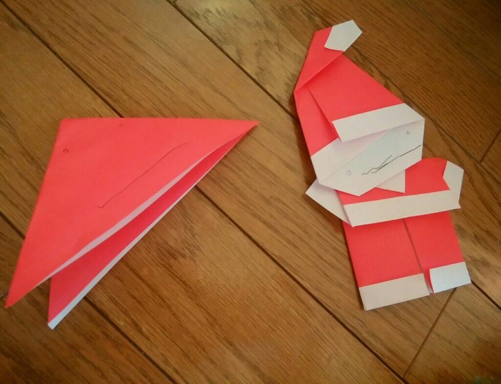 【平面】折り紙のクリスマス飾りを作る方法12選