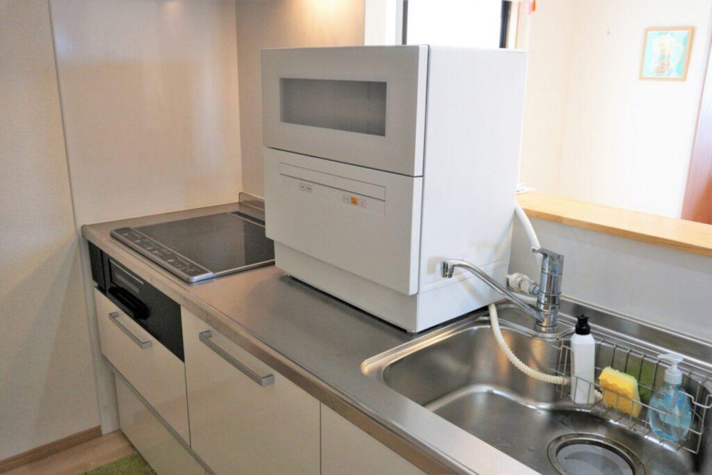 食洗機の種類:据え置き・卓上タイプ
