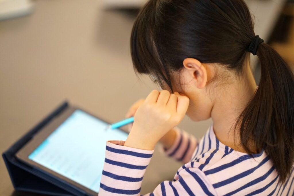 解約後も使える学習専用タブレット