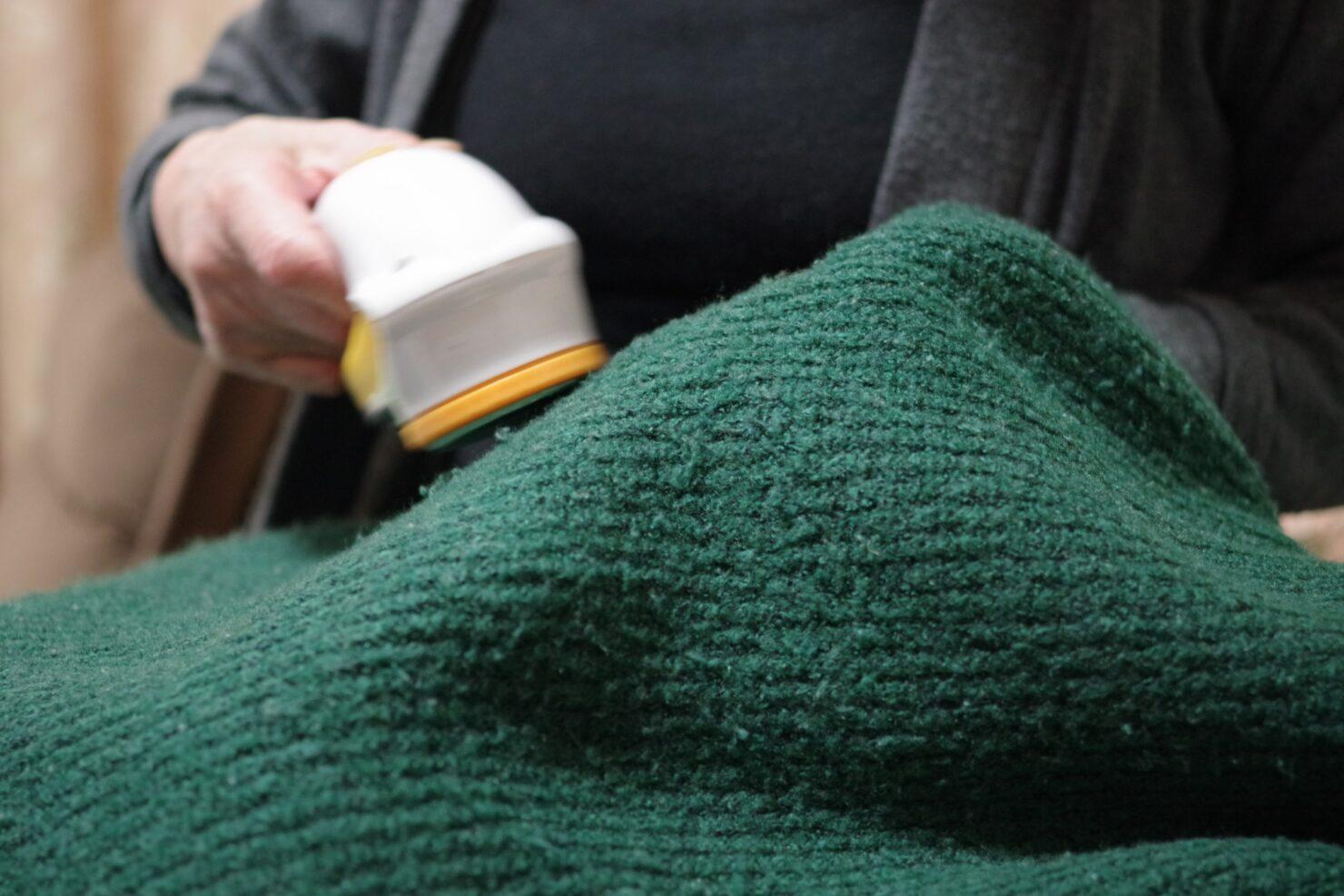 毛玉取りブラシの種類と使い方