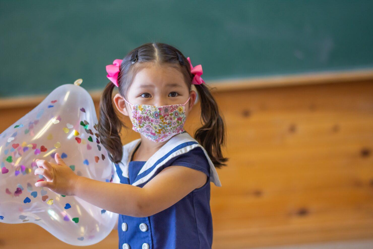 子供用のマスクはいつから?
