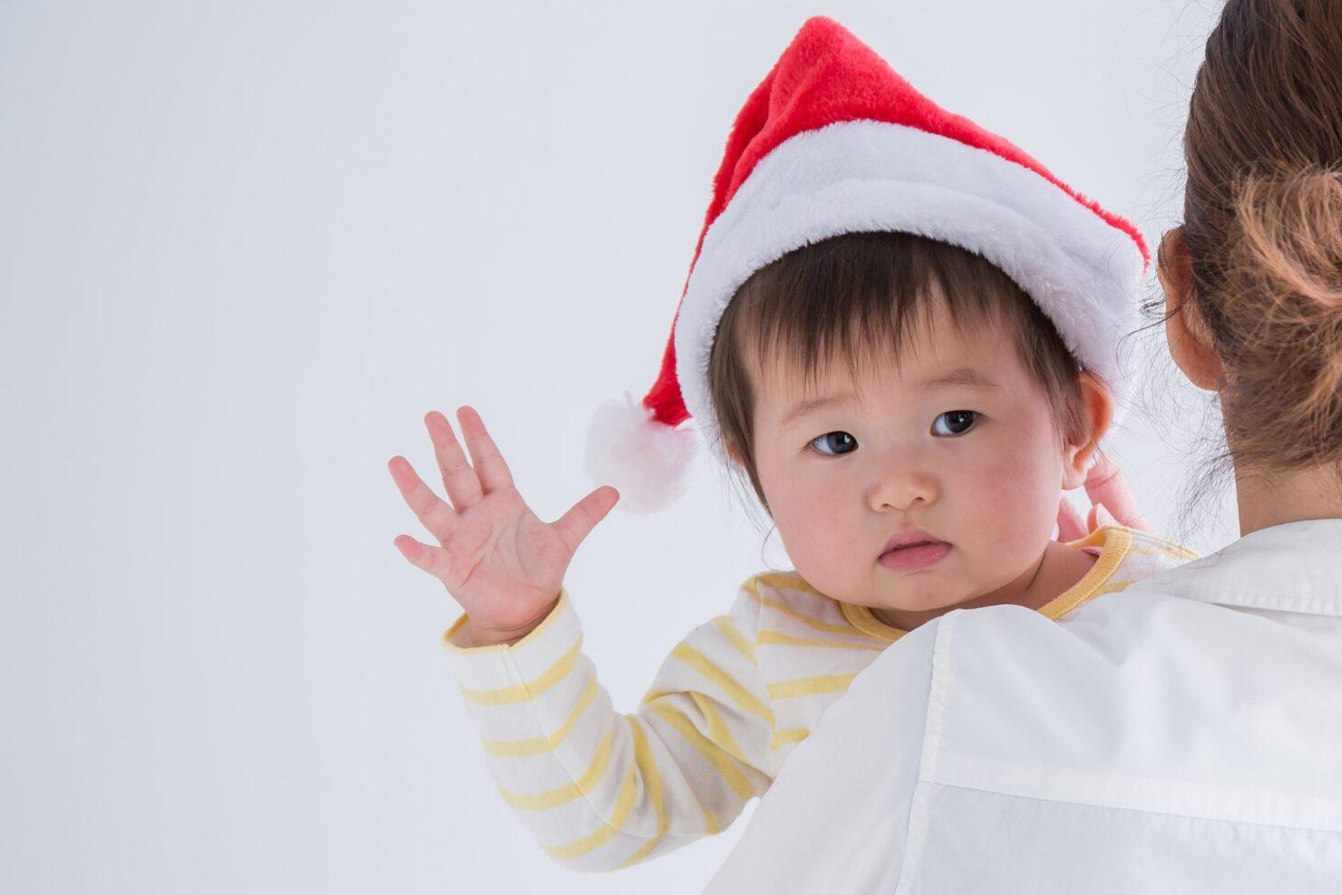 道具いらず! 乳児も楽しめるクリスマスゲーム4選