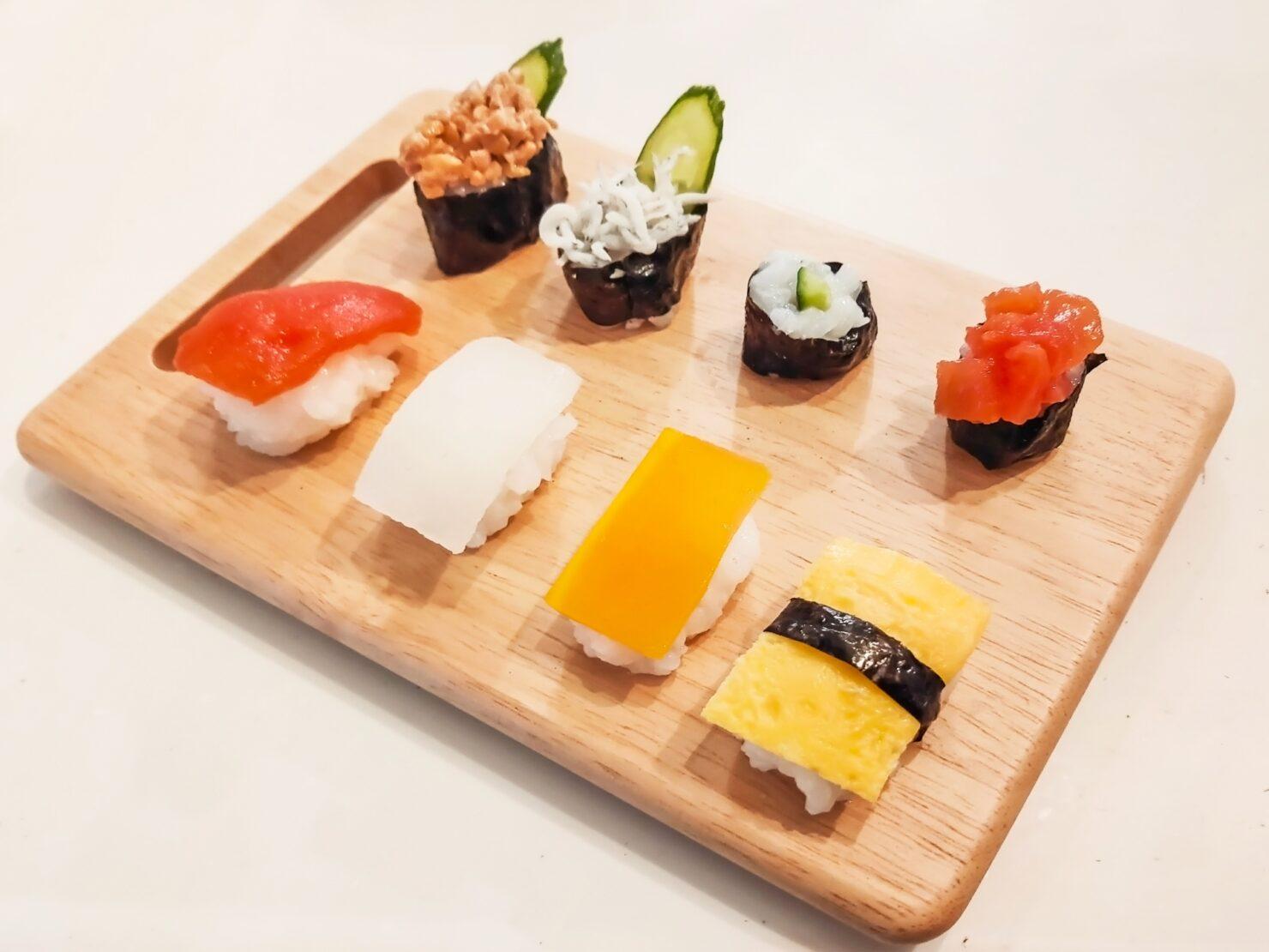 1歳の誕生日のご飯はどうする? インスタで話題の「赤ちゃん寿司」がおすすめ