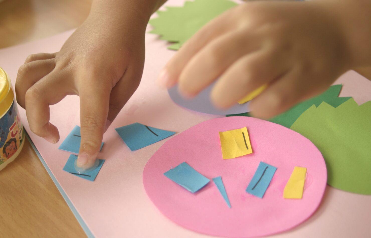 4~5歳:制作やクラス活動