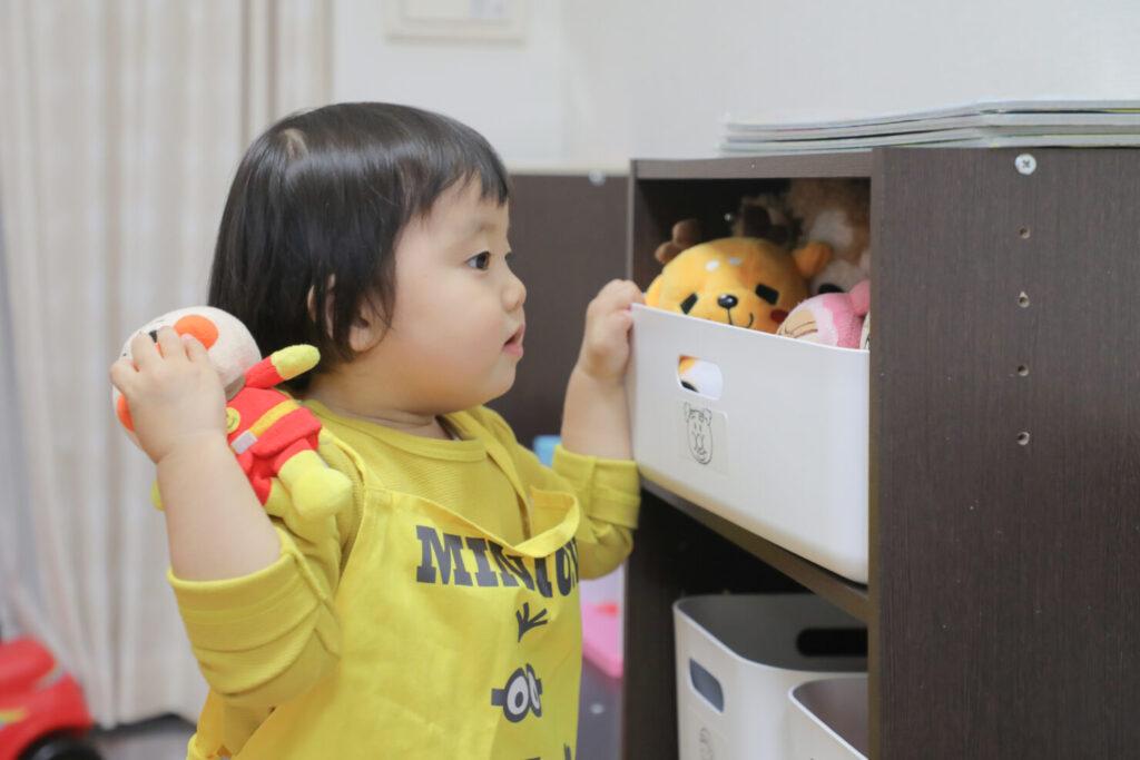 片付けられる空間は子供の自信にもつながる!